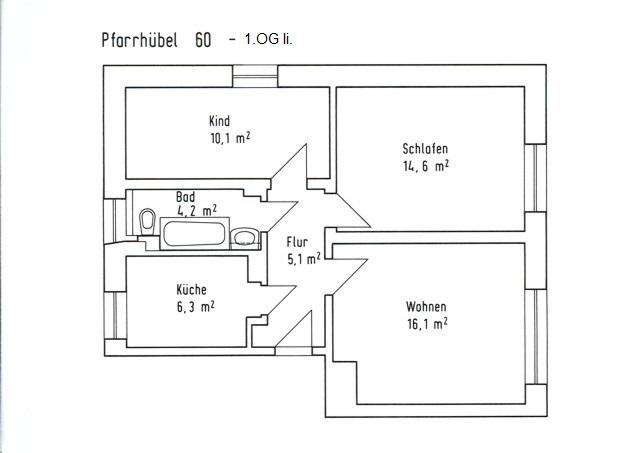 Grundriss Pf. 60